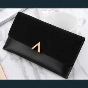 Handbags - 🆕 BORDEAUX Long Wallet - BLACK